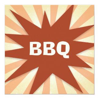 POW BBQ Party Card