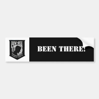 POW, BEEN THERE! BUMPER STICKER
