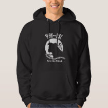 POW BSL Save the Pitbull Dog Hoodie