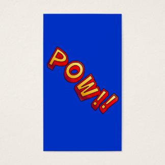 POW!! BUSINESS CARD