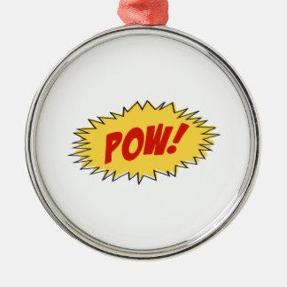 Pow Cartoon Ornaments