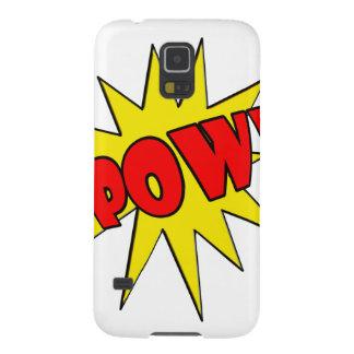 Pow! Cartoon SFX Cases For Galaxy S5
