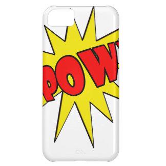 Pow! Cartoon SFX Case For iPhone 5C