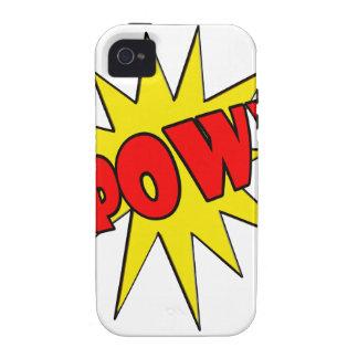 Pow! Cartoon SFX Case-Mate iPhone 4 Covers