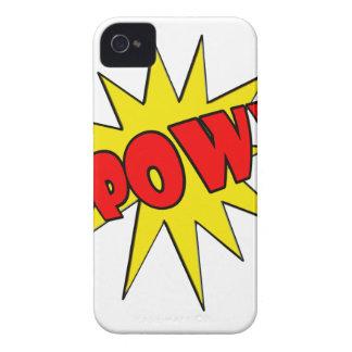 Pow! Cartoon SFX iPhone 4 Case-Mate Cases