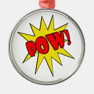 Pow! Cartoon SFX Ornament