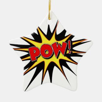 Pow! Christmas Ornament