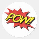 POW! Comic Book Stickers