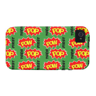 POW first, then POP iPhone 4/4S Case