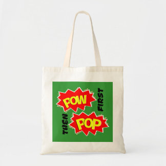 POW first, then POP Tote Bag