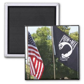 POW Flag Magnet