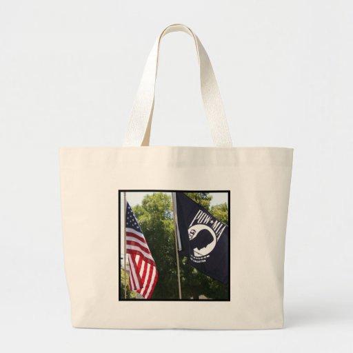 POW Flag Tote Bag