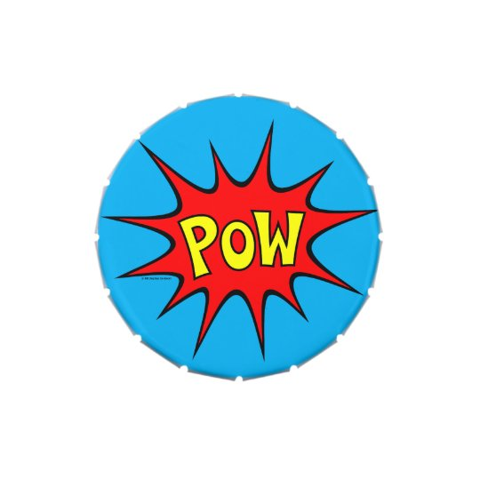 POW! JELLY BELLY CANDY TIN