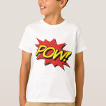 POW! Kids Comic Book Shirt