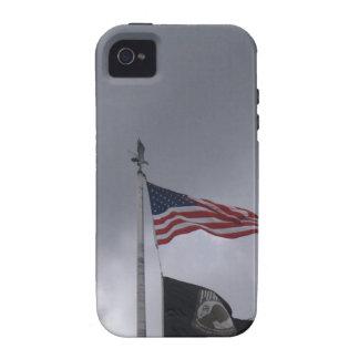 POW/MIA & American Flag Vibe iPhone 4 Case