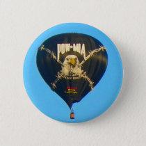 POW MIA Balloon Button