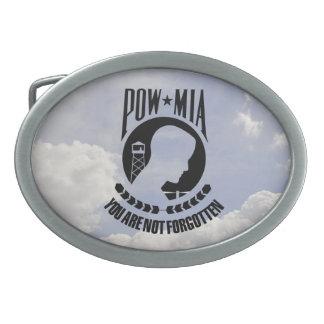 POW - MIA Belt Buckle