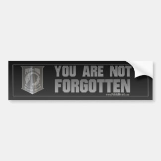 POW MIA Bumper Sticker
