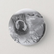 POW MIA Commemorative Button