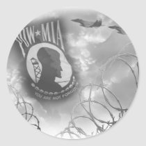 POW MIA Commemorative Stickers