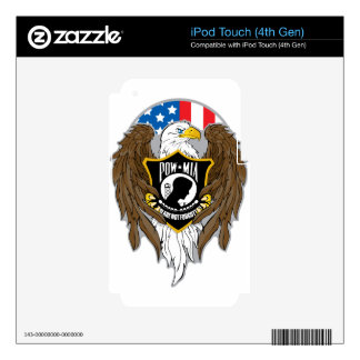 POW MIA Eagle Decal For iPod Touch 4G