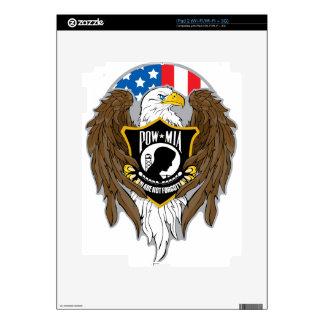 POW MIA Eagle Decal For The iPad 2
