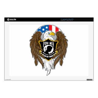 """POW MIA Eagle Skin For 17"""" Laptop"""