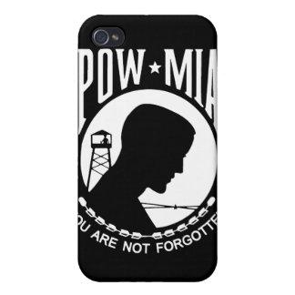 POW/MIA Flag - Customizable! iPhone 4/4S Covers