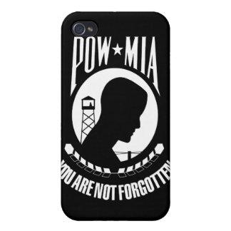 POW MIA Flag iPhone 4 Covers