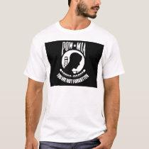 POW-MIA Flag T-Shirt