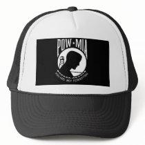 POW MIA Flag Trucker Hat
