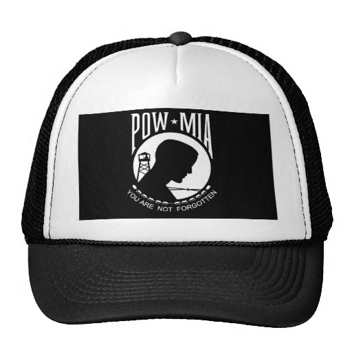 POW+MIA Flag Trucker Hat