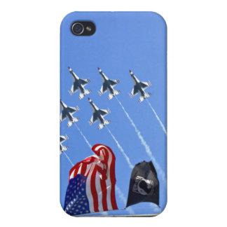 POW MIA Flag with Old Glory & The Thunderbirds iPhone 4/4S Cover