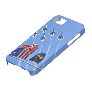 POW MIA Flag with Old Glory & The Thunderbirds iPhone SE/5/5s Case