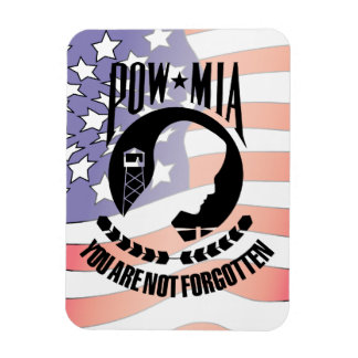 POW - MIA Flexable Magnet