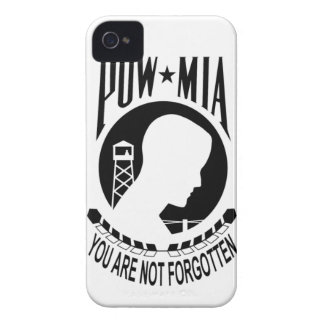 POW MIA Inverted iPhone 4 Barely There Case iPhone 4 Cover