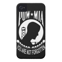 POW MIA iPhone 4 Barely There Case