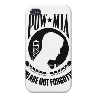POW MIA iPod Case iPhone 4 Cover