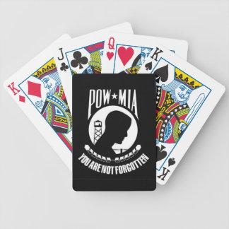 POW-MIA le no olvidan - los naipes Cartas De Juego