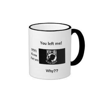 POW/ MIA meg #1 Ringer Mug