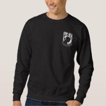 POW MIA Mens Black Sweatshirt