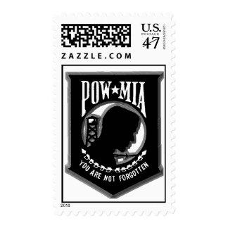 POW MIA Postage Stamp