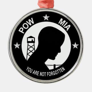 POW MIA Premium Ornament
