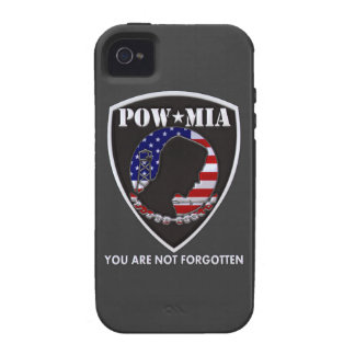 POW MIA - Shield Vibe iPhone 4 Cases