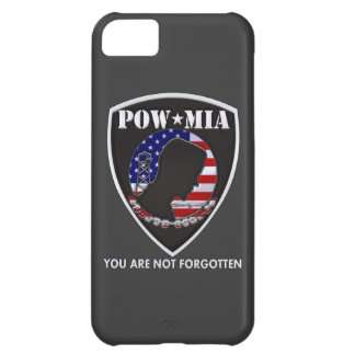 POW MIA - Shield Case For iPhone 5C