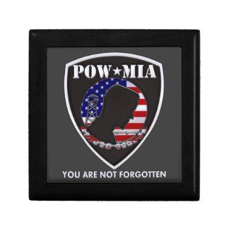POW MIA - Shield Keepsake Box