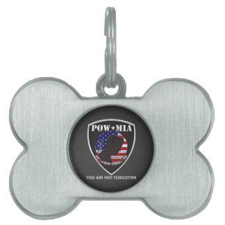 POW MIA - Shield Pet Tags