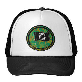 POW MIA T-Shirt Trucker Hat