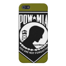 POW/MIA - Triangle Cover For iPhone SE/5/5s