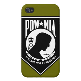 POW/MIA - Triangle iPhone 4/4S Cases